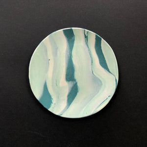 Jewelbug + Forest Ceramic Co. Seafoam Soap Dish