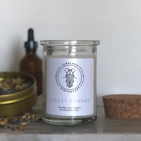 Sweet Fennel Soy Candle Tumbler