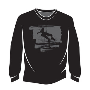Black Climber Design 1 Sweatshirt