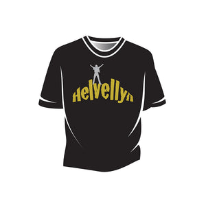 Black Helvellyn Kids T-Shirt