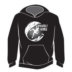 Black Upwardly Mobile Hoodie