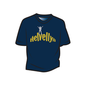 Dark Blue Helvellyn Kids T-Shirt
