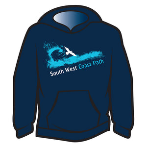 Dark Blue South West Coast Path Hoodie