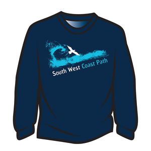 Dark Blue South West Coast Path Sweatshirt