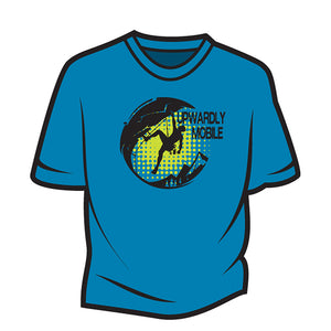 Blue Upwardly Mobile T-Shirt