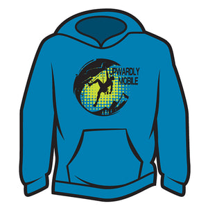Blue Upwardly Mobile Hoodie