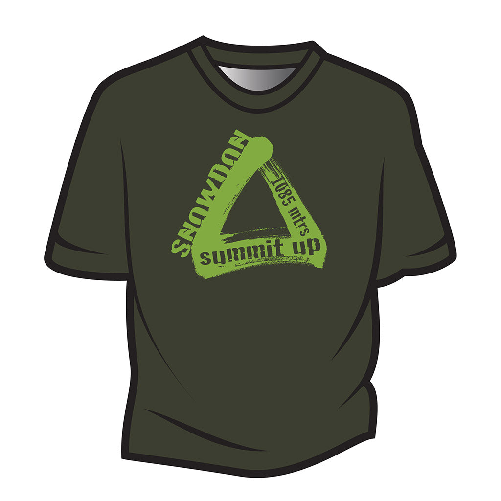 Dark Green Snowdon T-Shirt