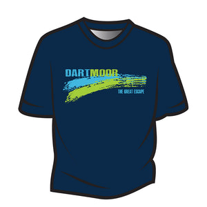 Dark Blue Dartmoor T-Shirt