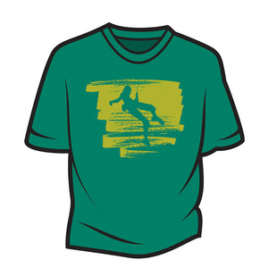 Green Climber Design 1 T-Shirt
