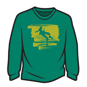 Green Climber Design 1 Sweatshirt