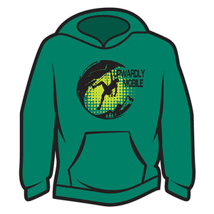 Green Upwardly Mobile Hoodie