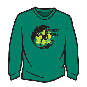 Green Upwardly Mobile Sweatshirt