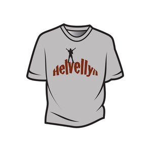 Light Grey Helvellyn Kids T-Shirt