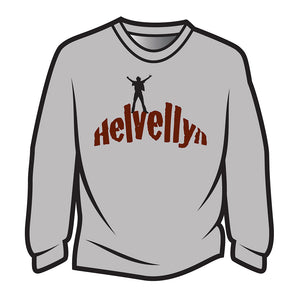 Light Grey Helvellyn Long Sleeve T-Shirt
