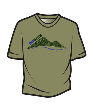 Khaki Cat Bells T-Shirt