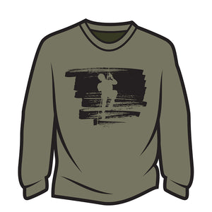 Khaki Climber Design 2 Long Sleeve T-Shirt