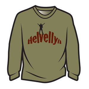 Khaki Helvellyn Long Sleeve T-Shirt