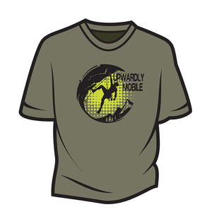 Khaki Upwardly Mobile T-Shirt