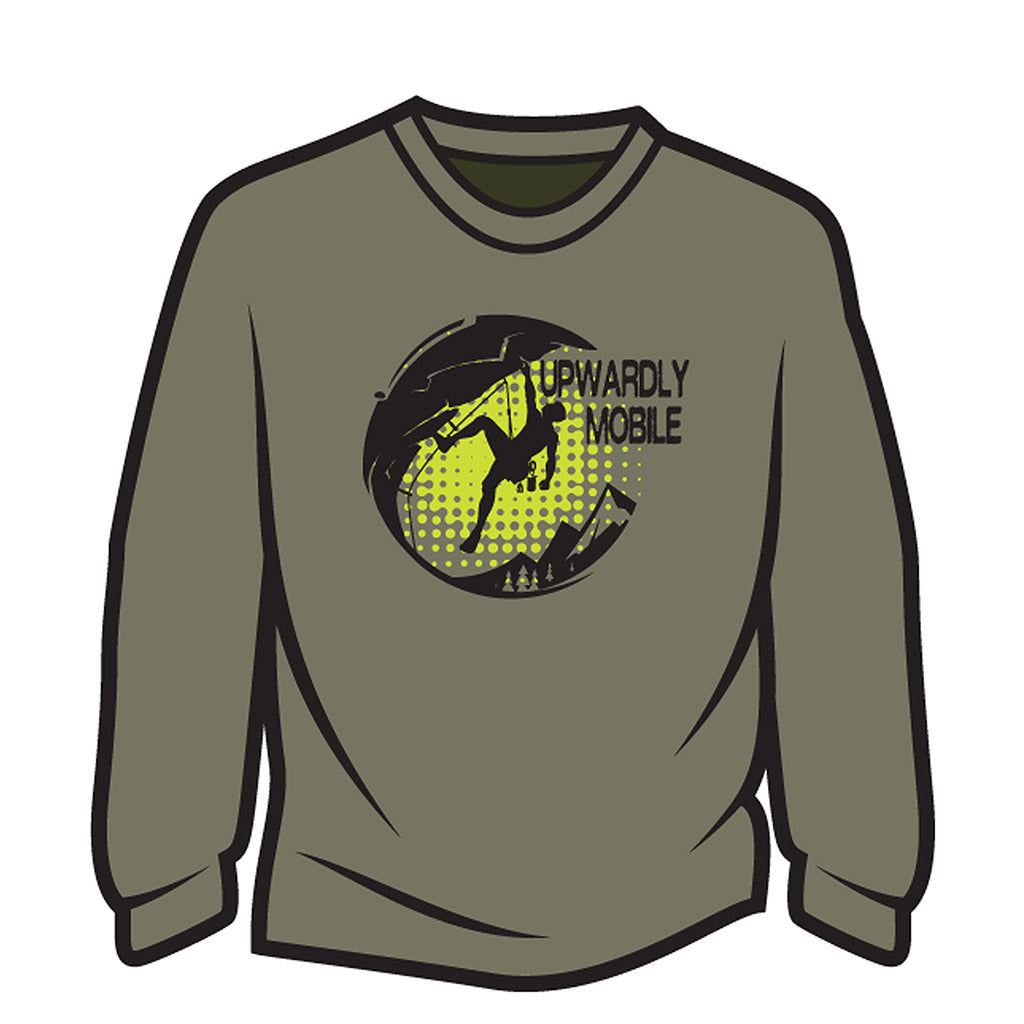 Khaki Upwardly Mobile Sweatshirt