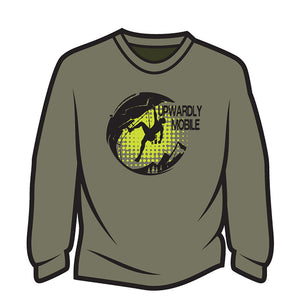 Khaki Upwardly Mobile Long Sleeve T-Shirt