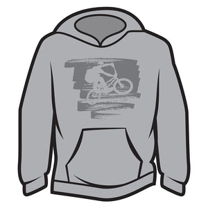 Light Grey Bike Jump Hoodie