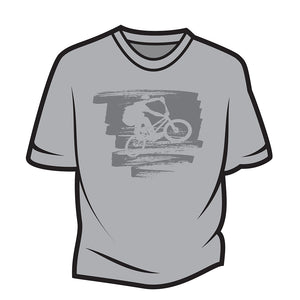 Light Grey Bike Jump T-Shirt