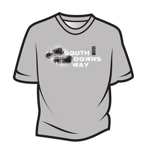 Light Grey South Downs Way Design 1 T-Shirt