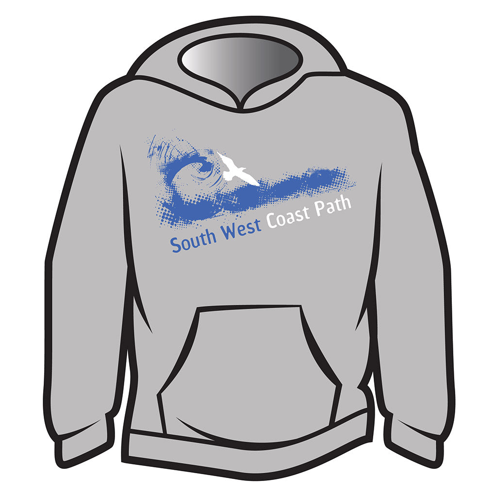 Light Grey South West Coast Path Hoodie