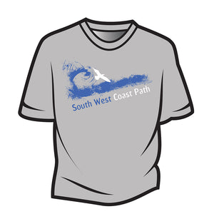 Light Grey South West Coast Path T-Shirt