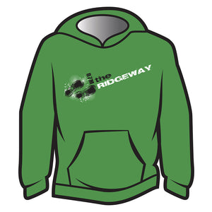 Green The Ridgeway Design 1 Hoodie