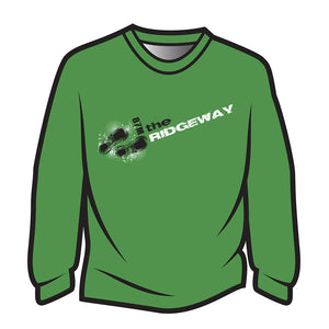 Green The Ridgeway Design 1 Long Sleeve T-Shirt