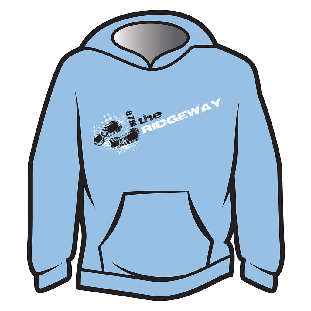 Light Blue The Ridgeway Design 1 Hoodie