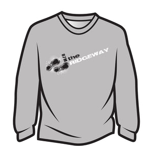 Light Grey The Ridgeway Design 1 Long Sleeve T-Shirt