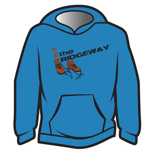 Blue The Ridgeway Design 2 Hoodie