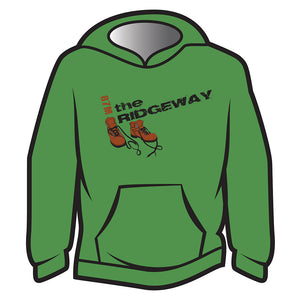 Green The Ridgeway Design 2 Hoodie