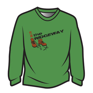 Green The Ridgeway Design 2 Sweatshirt