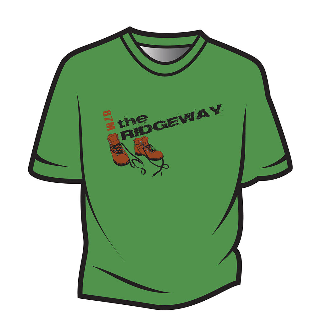 Green The Ridgeway Design 2 T-Shirt