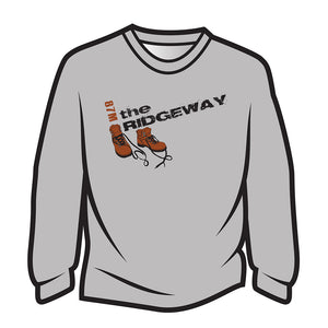 Light Grey The Ridgeway Design 2 Sweatshirt