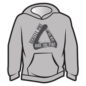 Light Grey Scafell Pike Hoodie