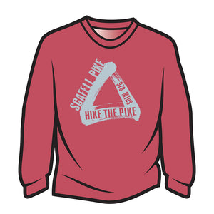 Red Scafell Pike Sweatshirt