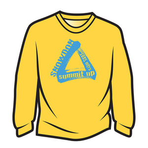 Yellow Snowdon Sweatshirt