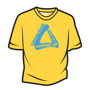 Yellow Snowdon T-Shirt