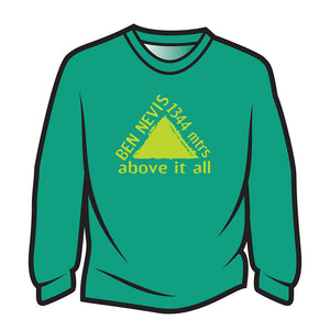 Green Ben Nevis Long Sleeve T-Shirt