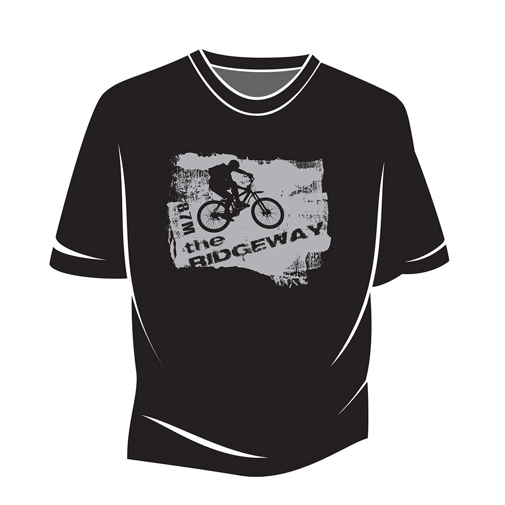 Black The Ridgeway biker T-Shirt