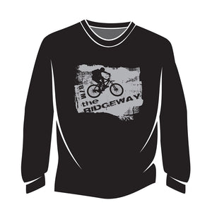 Black The Ridgeway biker Long Sleeve T-Shirt