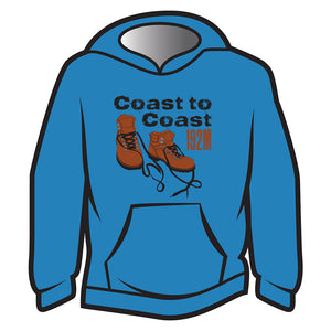 Dark Blue Coast to Coast Hoodie