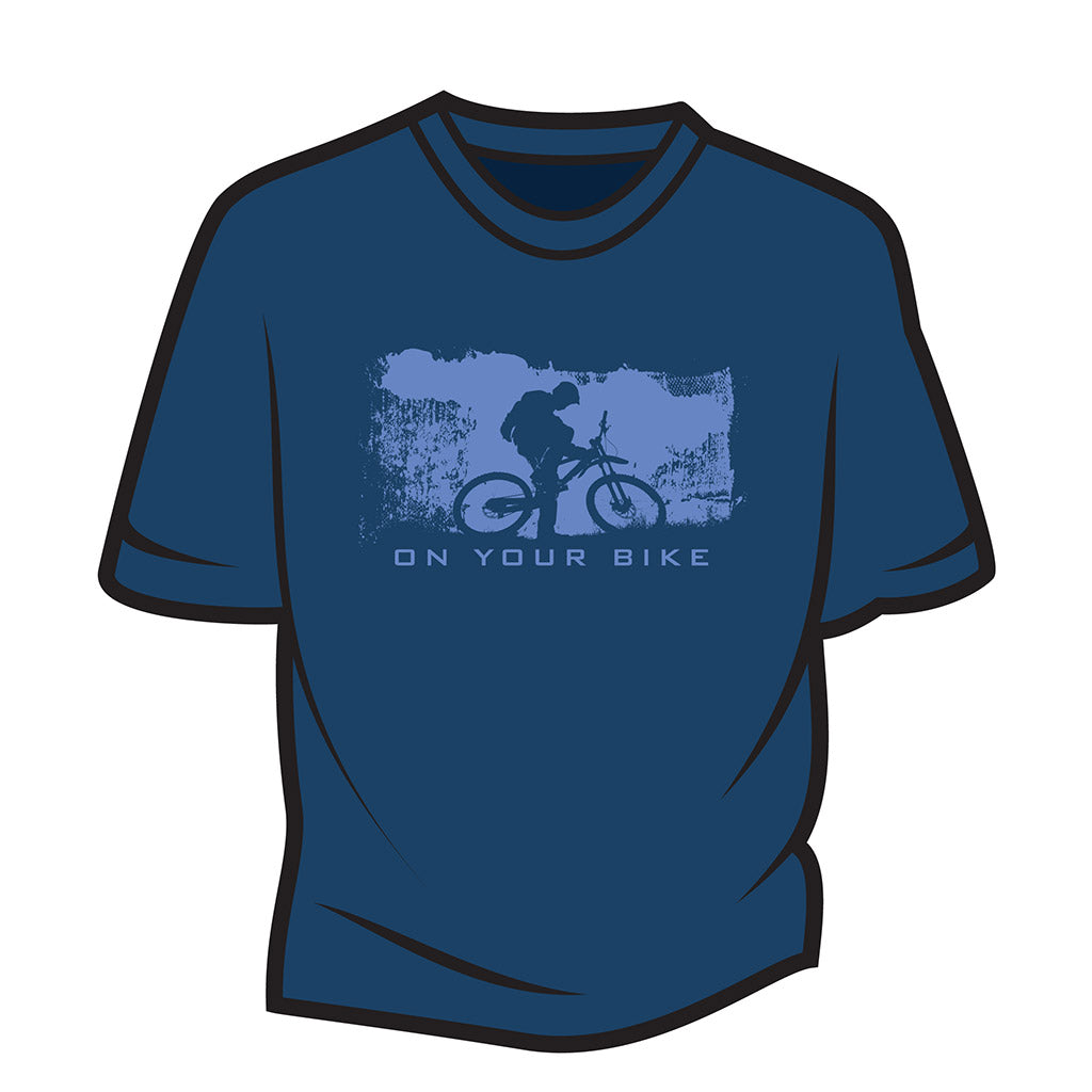 Dark Blue On your bike T-Shirt
