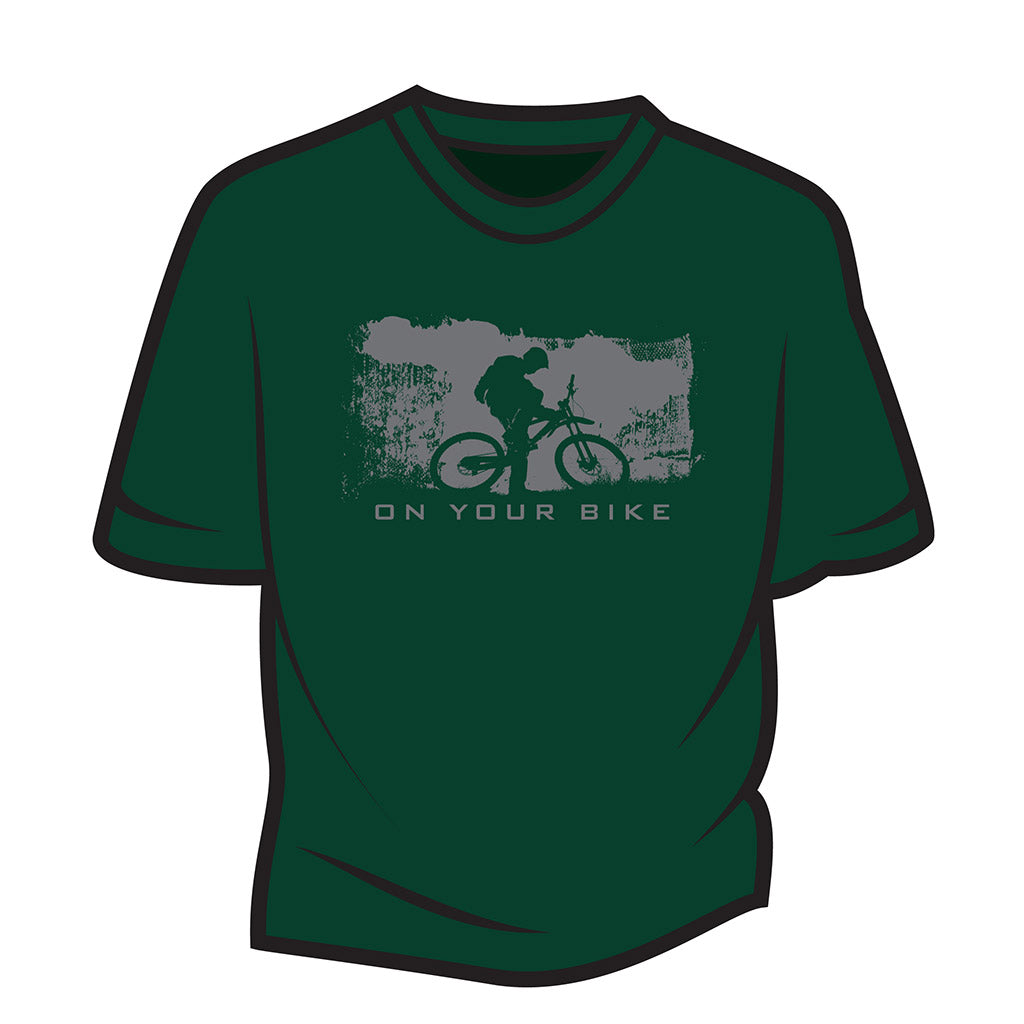 Dark Green On your bike T-Shirt