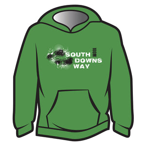Green South Downs Way Design 1 Hoodie