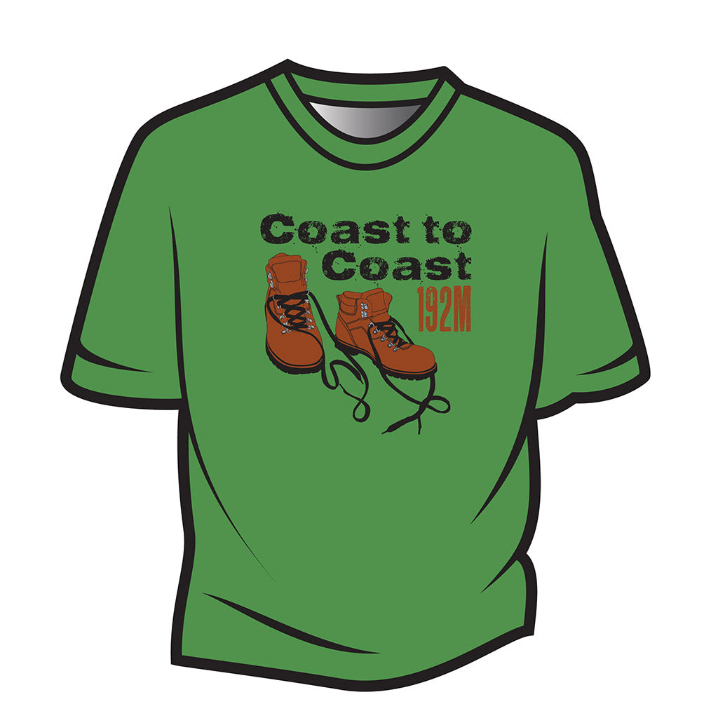 Green Coast to Coast T-Shirt